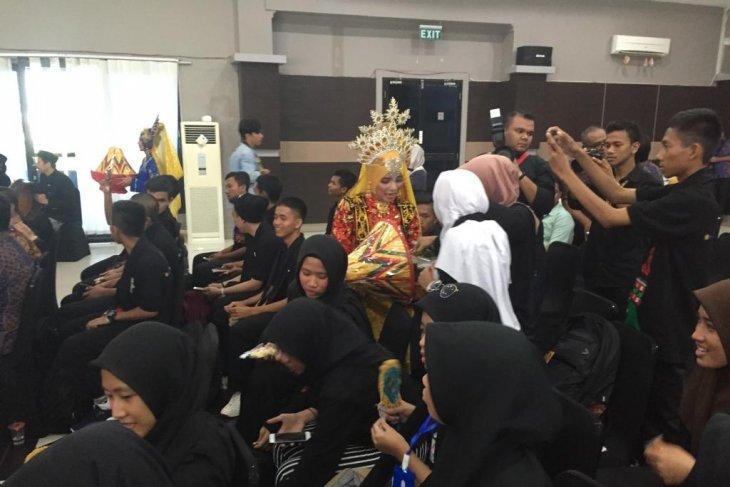 Peserta SMN Banten disambut Tari Pemulia Jamee
