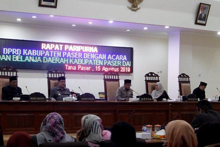 DPRD Paser setujui Rancangan APBD 2020