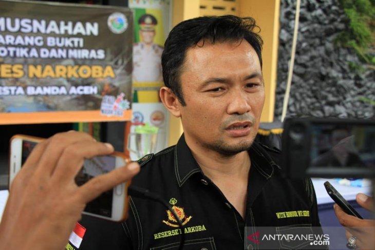 Polresta Banda Aceh proses hukum 235 tersangka Narkotika