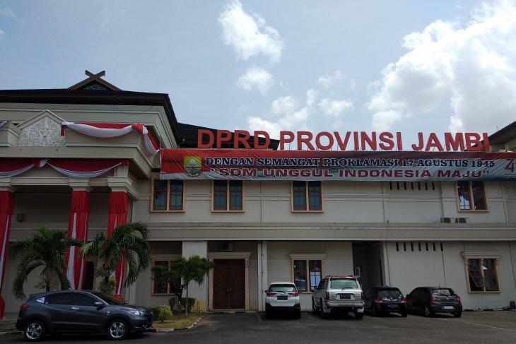 Pelantikan anggota DPRD Provinsi Jambi terpilih digelar 9 September