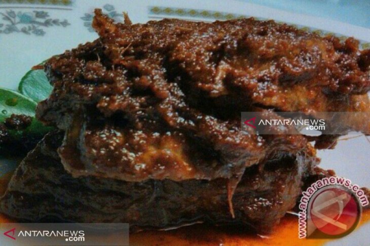 Masakan Minang yang bersantan sehat dikonsumsi