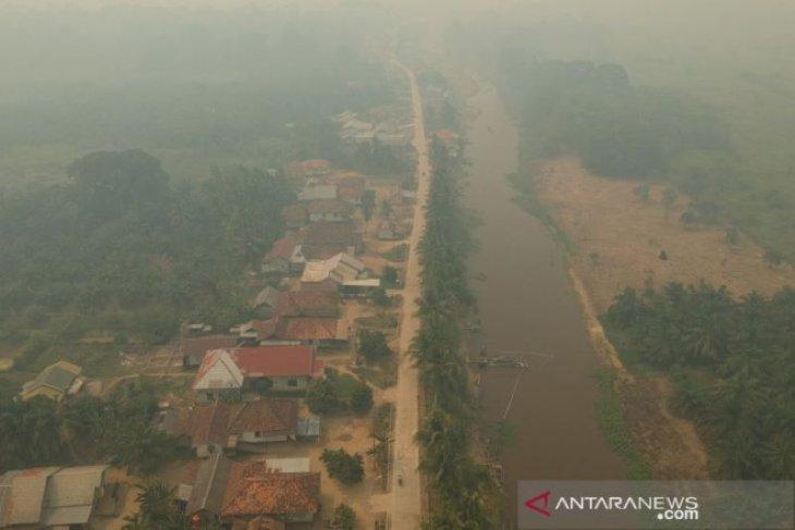 Jambi diselimuti kabut asap