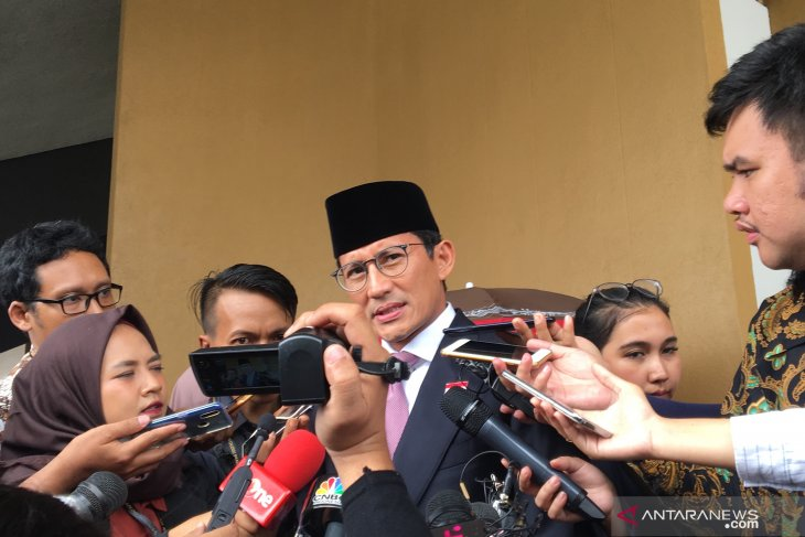 Sandiaga Uno merasa terhormat disapa Jokowi sebagai sahabat baik