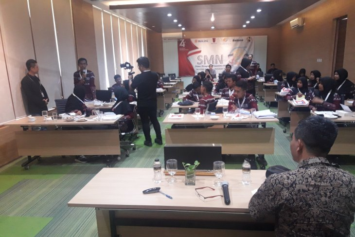 Peserta SMN asal Aceh antusias ikuti bedah buku 'Bingkai Anak Negeri'