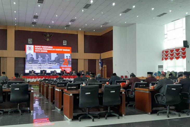 Rapat Paripurna DPRD Kota Bogor