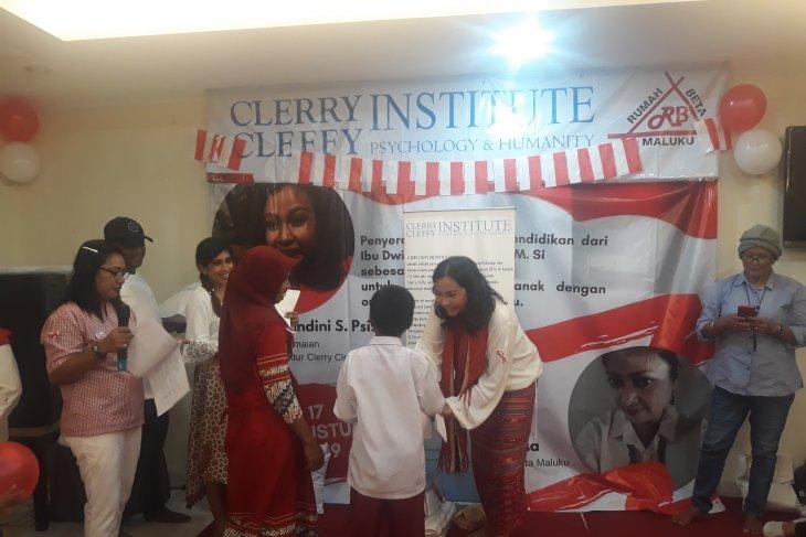 CCI bantu biaya pendidikan ADHA di Kota Ambon