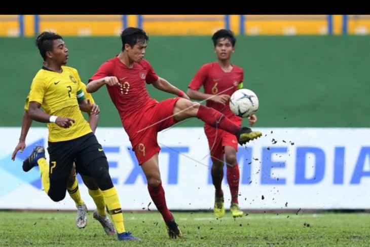 Timnas U-18 Indonesia kalah dari Malaysia