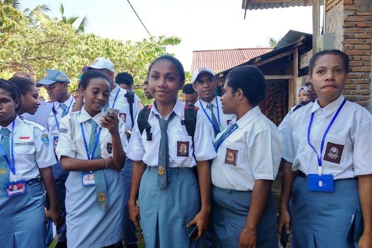 Peserta SMN dari Papua Barat tidak asing di Mamuju