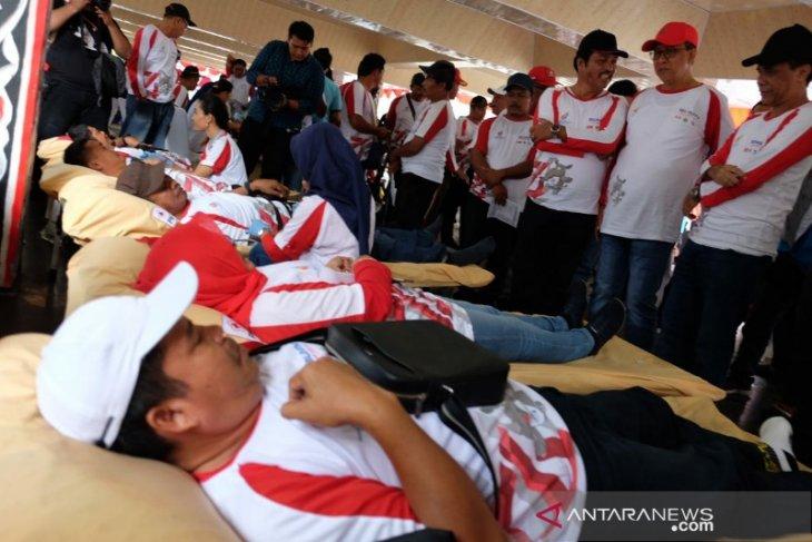 Donor darah BUMN Hadir Untuk Negeri disambut antusias masyarakat