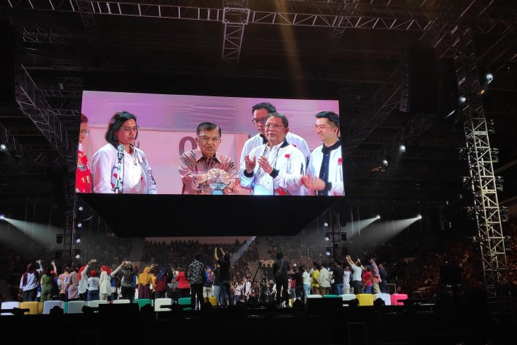 Jusuf Kalla mengajak pemuda bangun negeri lewat startup