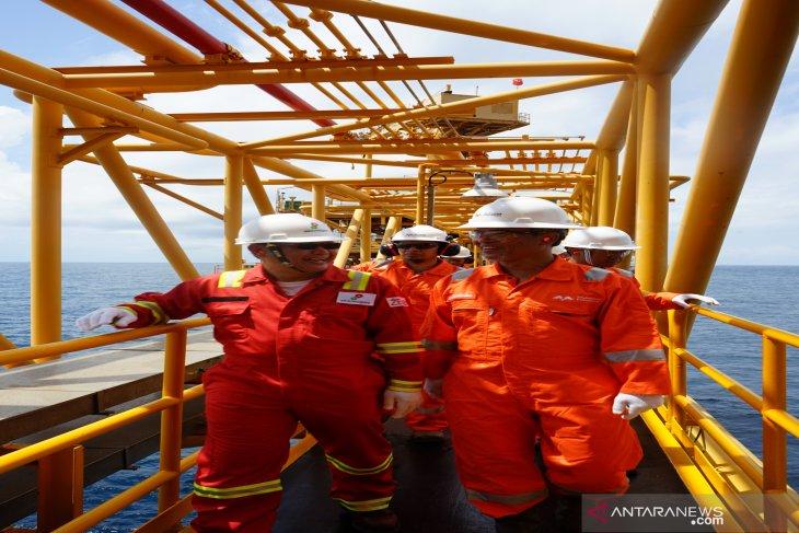Ruby  produksi gas secara aman tanpa
