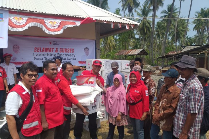 PMI luncurkan program kegiatan pemulihan untuk korban tsunami Banten