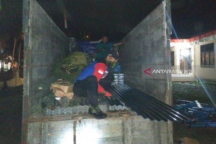 Bantuan pembangunan rumah korban puting beliung Aceh Barat disalurkan