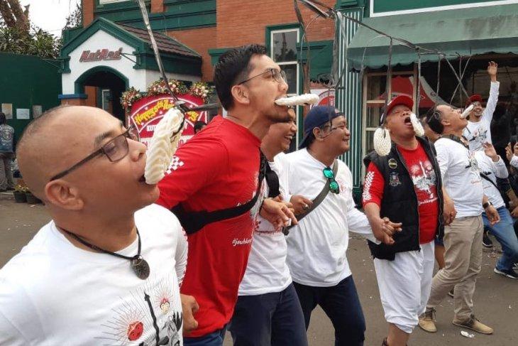 HUT RI, pecinta Vespa Kutu Community serukan pesan jauhkan perbedaan