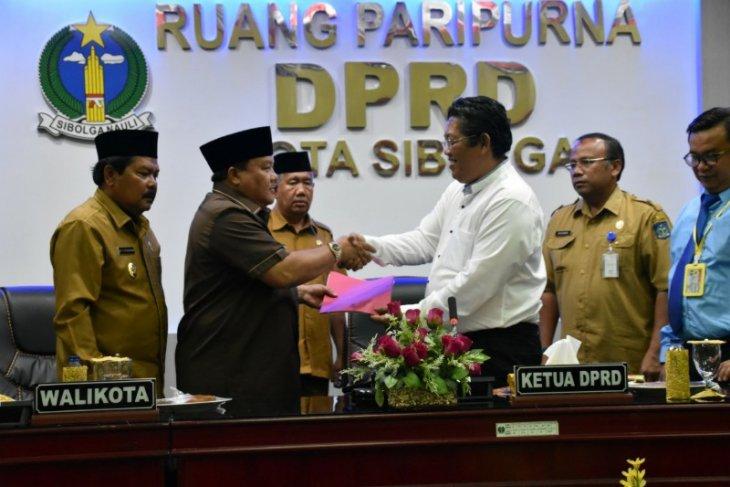 DPRD sampaikan pandangan umum terhadap Ranperda APBD Sibolga