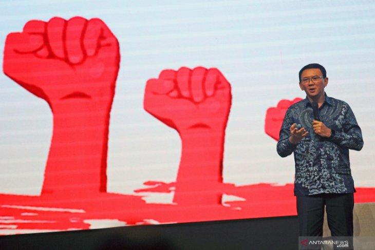 Mantan Gubernur DKI Ahok jelaskan e-budgeting justru untuk transparansi