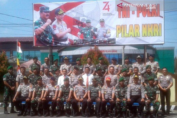 Polres Rejang Lebong tingkatkan sinergisitas dengan prajurit TNI