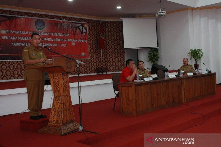 Pemkab Landak ubah RPJMD tahun 2017-2022