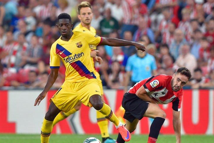 Dembele perpanjang daftar pemain cedera Barca