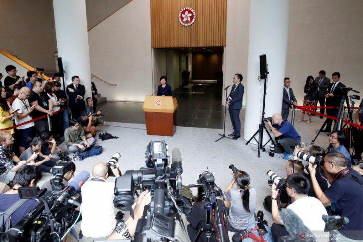 China tahan staf konsulat Inggris di Hong Kong