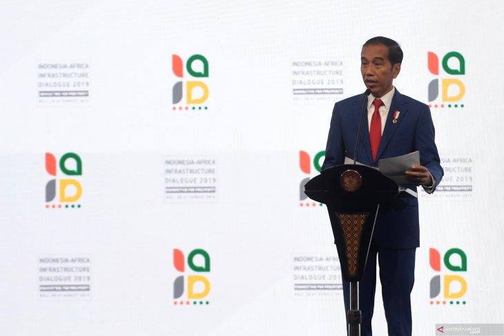 Presiden Jokowi: Indonesia-Afrika kekuatan besar jika bersatu (video)
