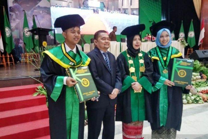 Miftah, wisudawan Polbangtan Medan terbaik Indonesia
