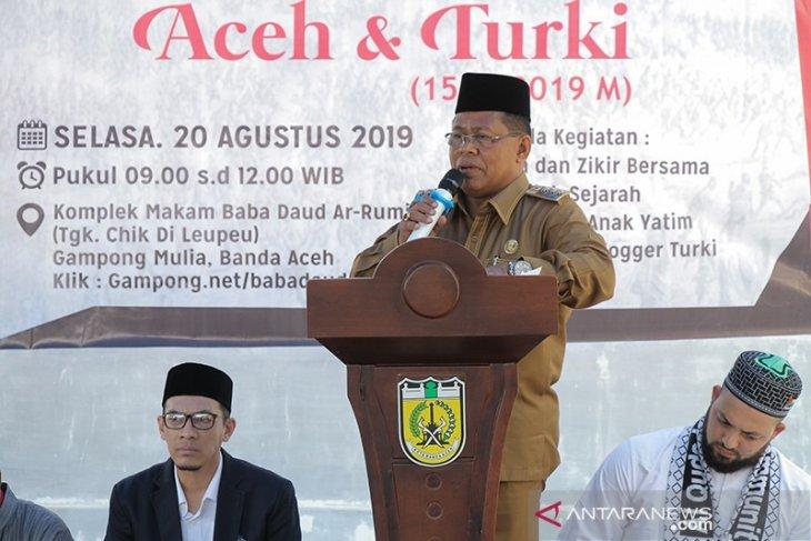 Berharap terus langgeng, masyarakat peringati 480 tahun persaudaraan Aceh-Turki