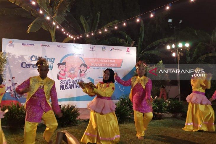 Peserta SMN Gorontalo tampilkan tari tradisional saat