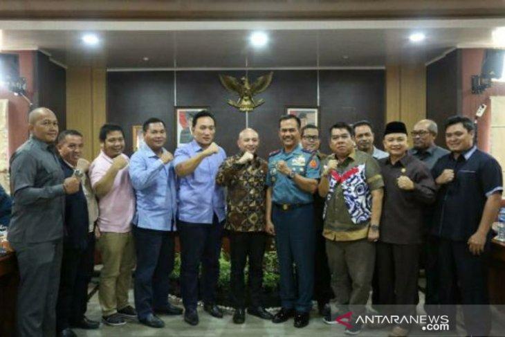 DPRD Babel terima kunjungan 46 peserta KKDN Pasis Dinreg XLVI Sesko TNI