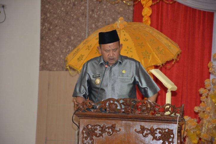 Wakil Bupati jawab pertanyaan anggota DPRD Langkat
