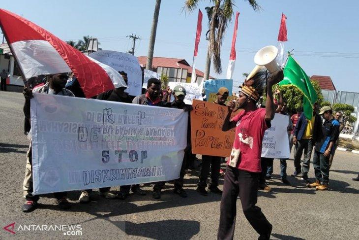Mahasiswa Papua di Bengkulu gelar aksi solidaritas