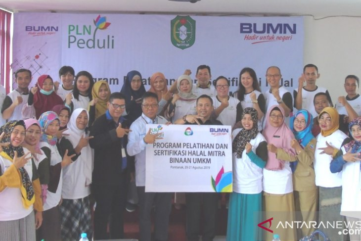 Di Kalbar, PLN bantu sertifikasi halal untuk 20 UMKM