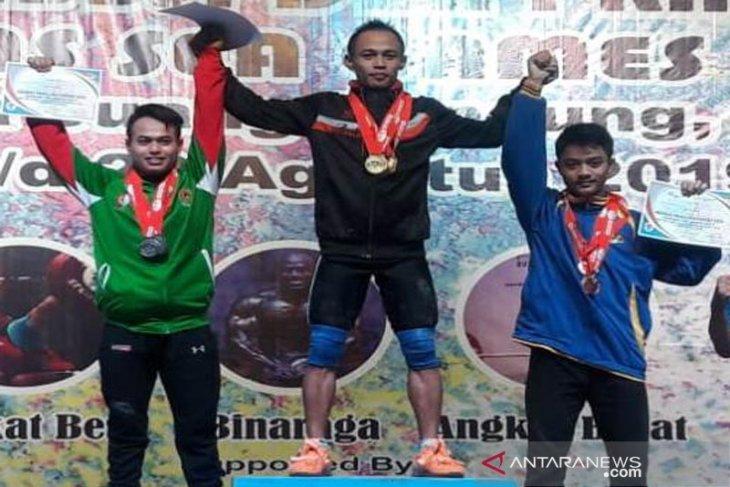 Lifter Aceh, Surahmat raih tiga emas di Kejurnas