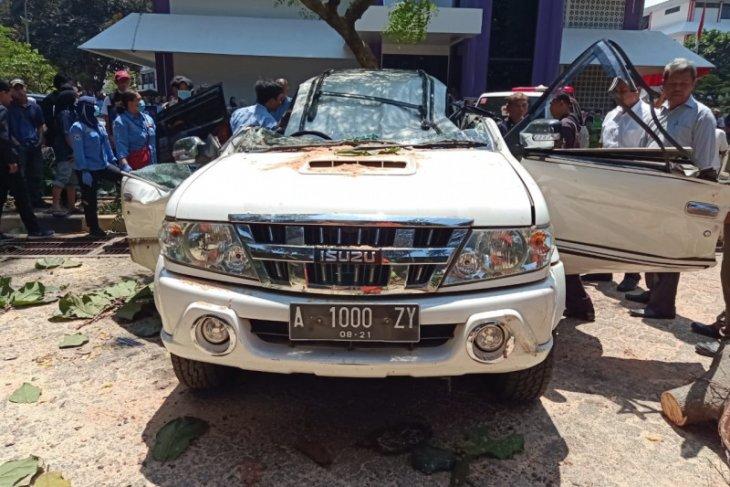 Orangtua mahasiswa Universitas Pancasila tewas tertimpa pohon