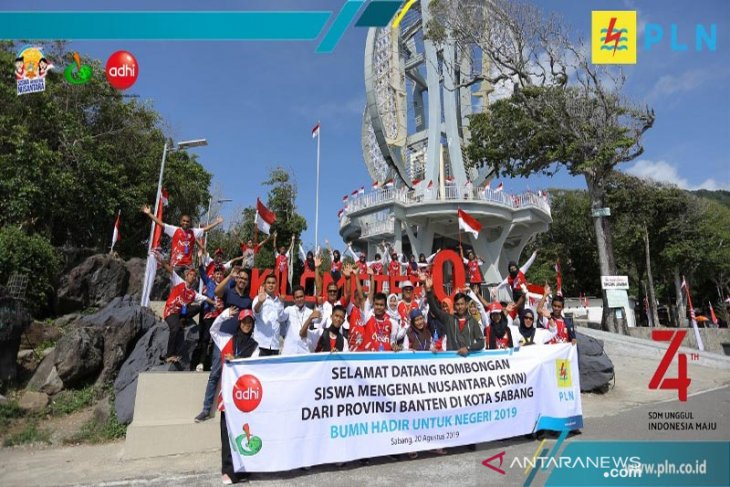 Peserta SMN Banten kagumi destinasi wisata Sabang