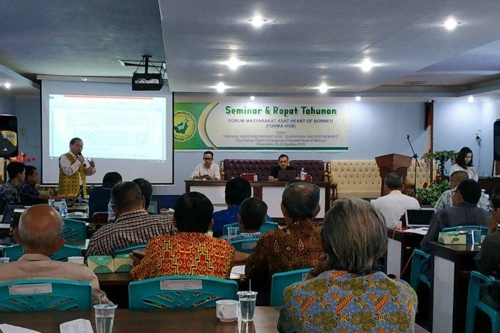 3 negara bahas hak masyarakat adat di jantung Borneo