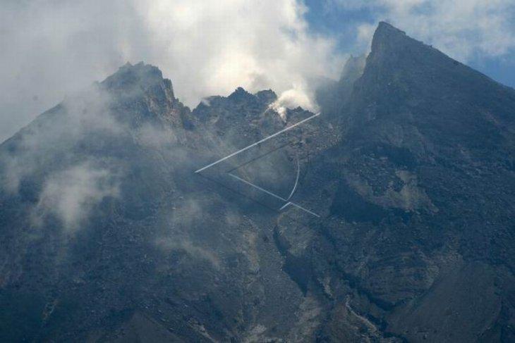 Aktivitas puncak gunung Merapi
