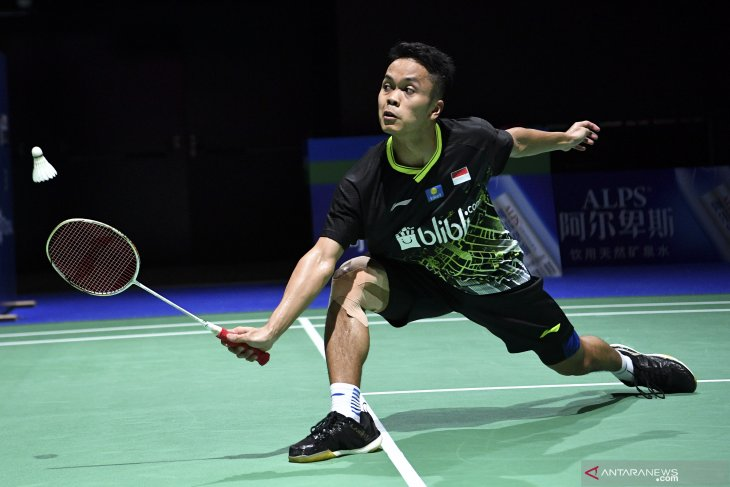 Indonesia's Ginting advances to China Open's men's semifinal