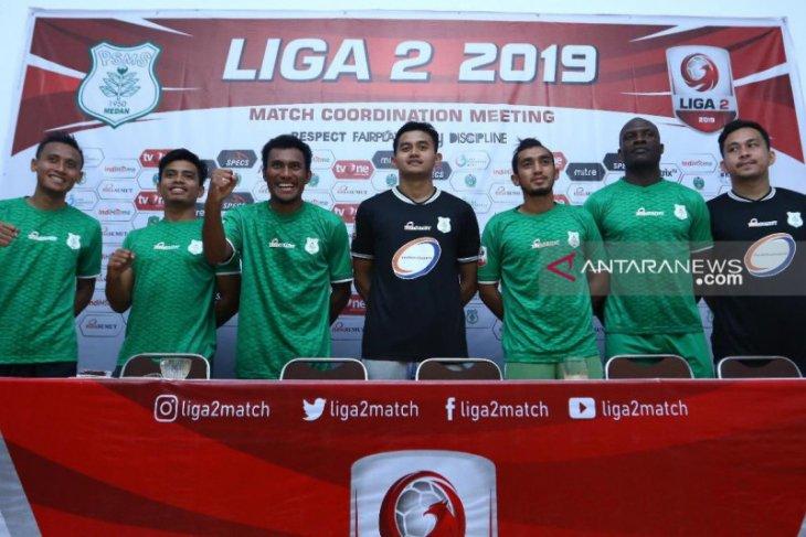 PSMS resmi kontrak 7 pemain  baru