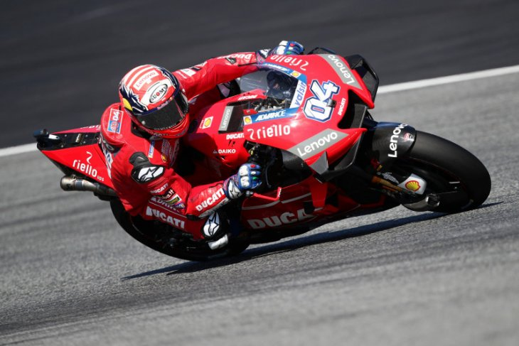 Dovizioso tekad kejar poin marc Marquez di GP Silverstone