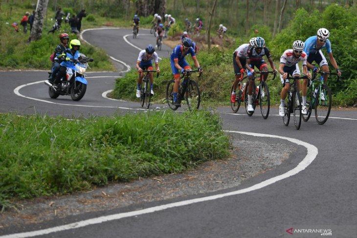 Etape terakhir Tour d'Indonesia, pertarungan seru meraih juara