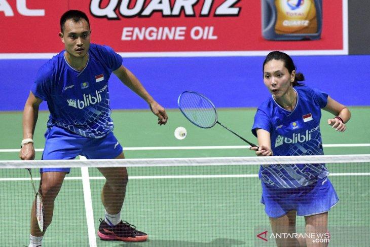 Tiga ganda campuran lolos ke perempat final Chinese Taipei Open
