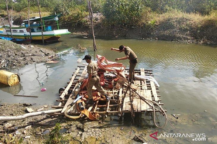 Tim gabungan kembali tertibkan tambang ilegal di Pangkalpinang