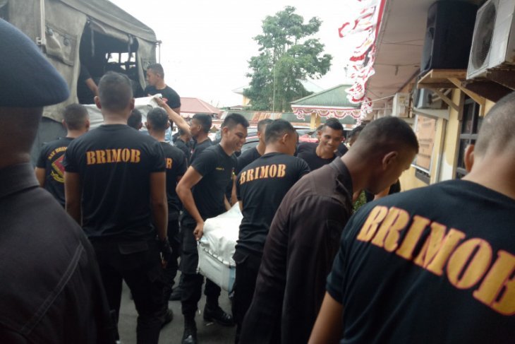 200 Brimob personnel reach Timika to ensure conducive atmosphere