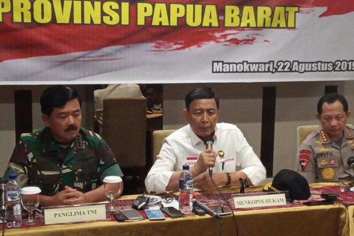 Menko Polhukam Wiranto puji kesadaran masyarakat Manokwari