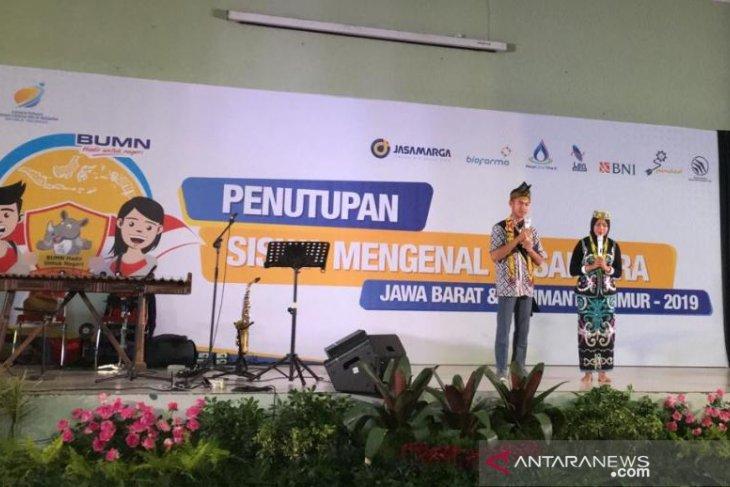 Kesan manis siswa peserta SMN 2019 Jabar di Kaltim