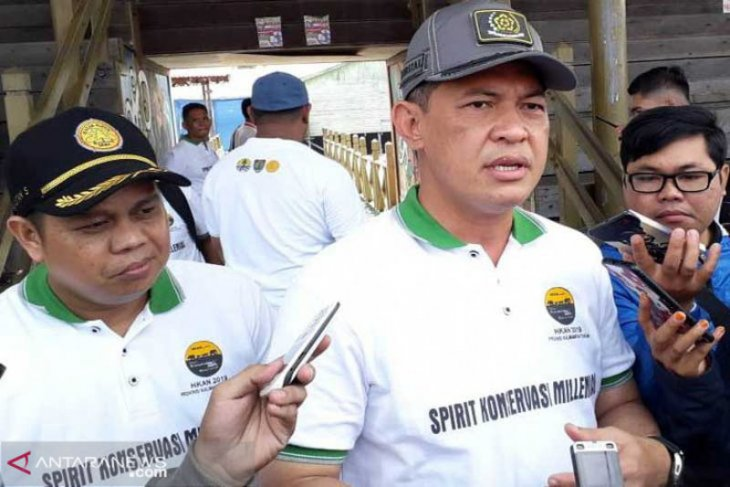 Menko Polhukam, Panglima TNI dan Kapolri kunjungi Kalteng