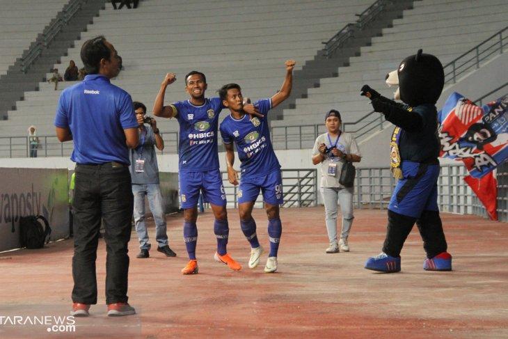 Persiba Balikpapan kalah 2-1 di kandang PSIM Yogyakarta
