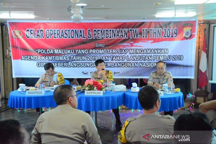 Polda Maluku evaluasi kinerja di atas KM Nggapulu