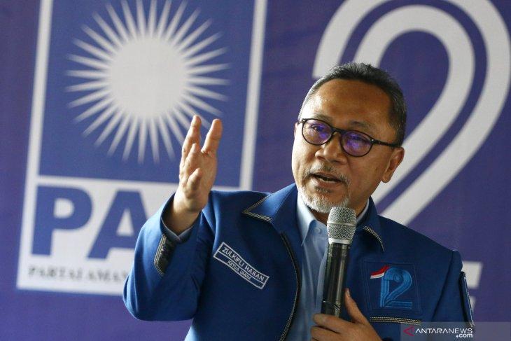 Periode kedua Zulkifli Hasan jadi pimpinan MPR